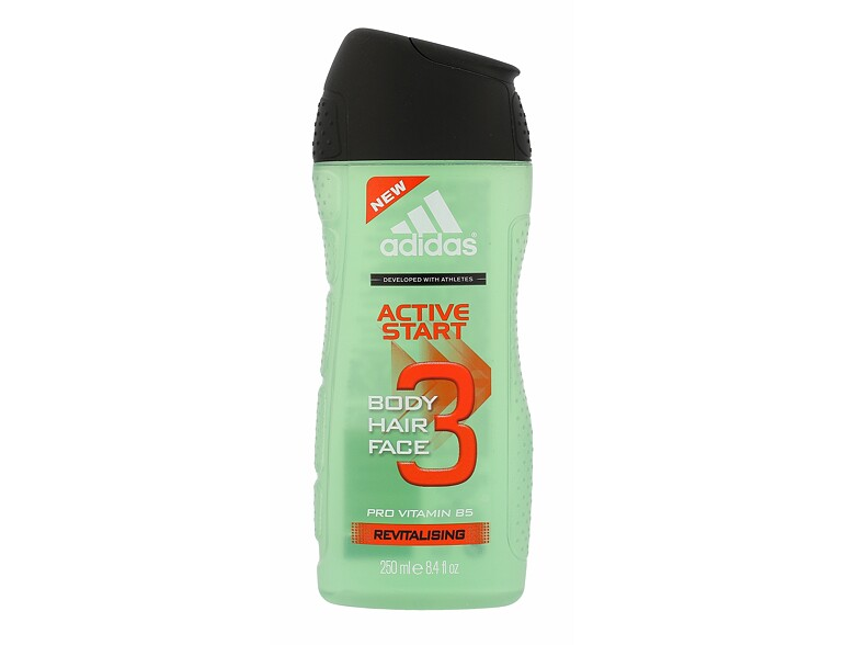 Duschgel Adidas Active Start 3in1 250 ml