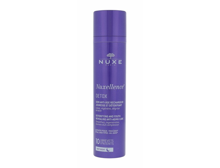 Nachtcreme NUXE Nuxellence Detox Anti-Aging Night Care 50 ml