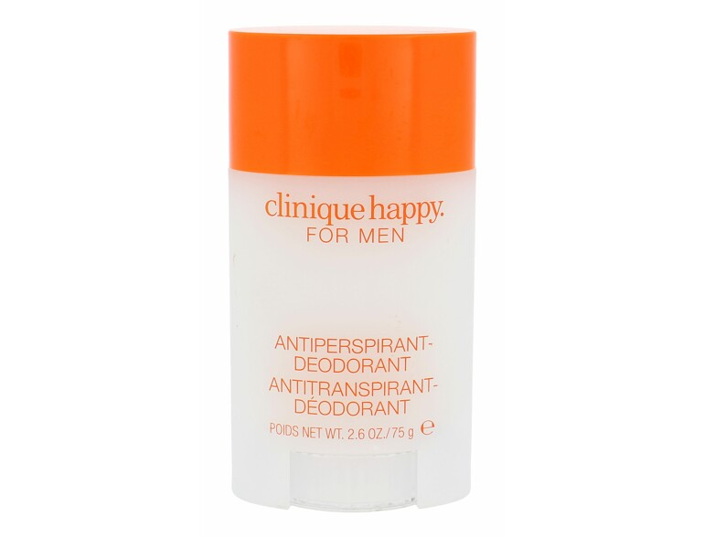 Antiperspirant Clinique Happy For Men 75 ml