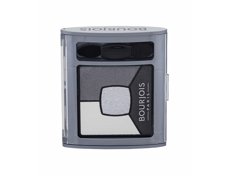 Lidschatten BOURJOIS Paris Smoky Stories Quad Eyeshadow Palette 3,2 g 01 Grey & Night