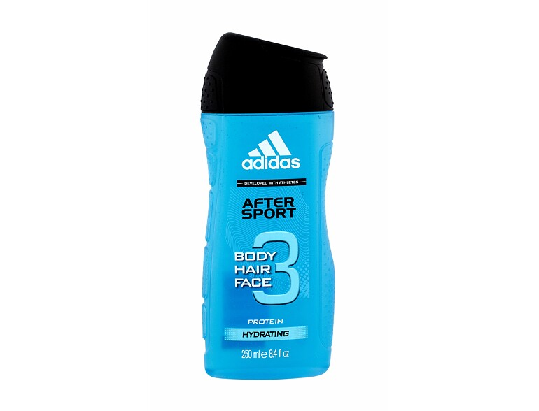 Gel douche Adidas 3in1 After Sport 250 ml