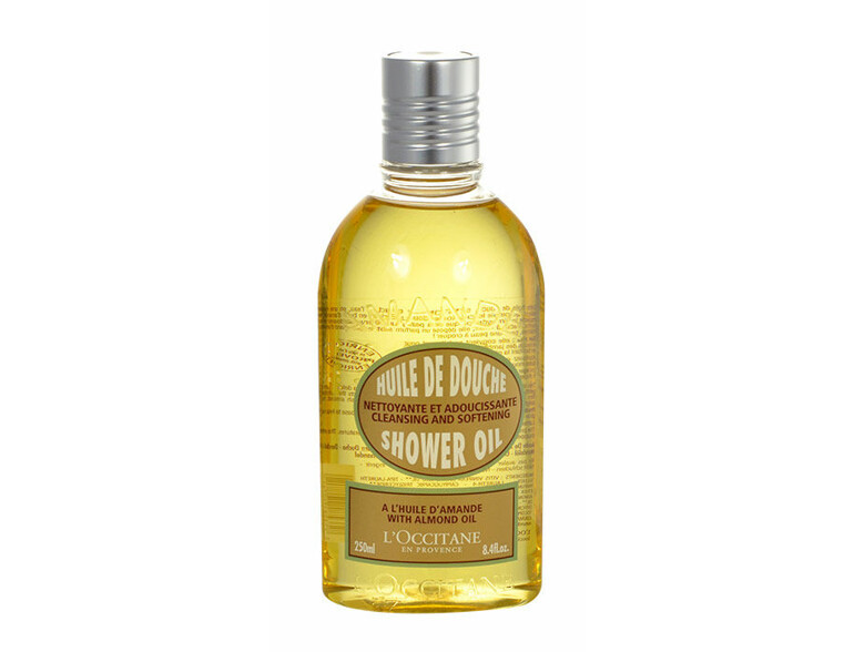 Duschgel L´Occitane Amande Cleansing And Softening Shower Oil 250 ml