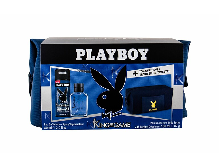 Eau de Toilette Playboy King of the Game For Him 60 ml Sets