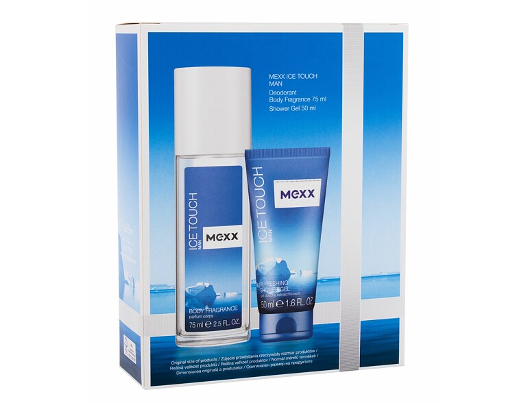 Deodorant Mexx Ice Touch Man 2014 75 ml Sets
