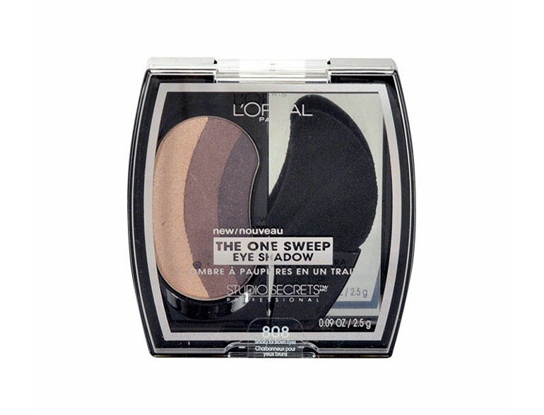 Lidschatten L´Oréal Paris Studio Secrets The One Sweep 2,5 g 808 Smoky For Brown Eyes