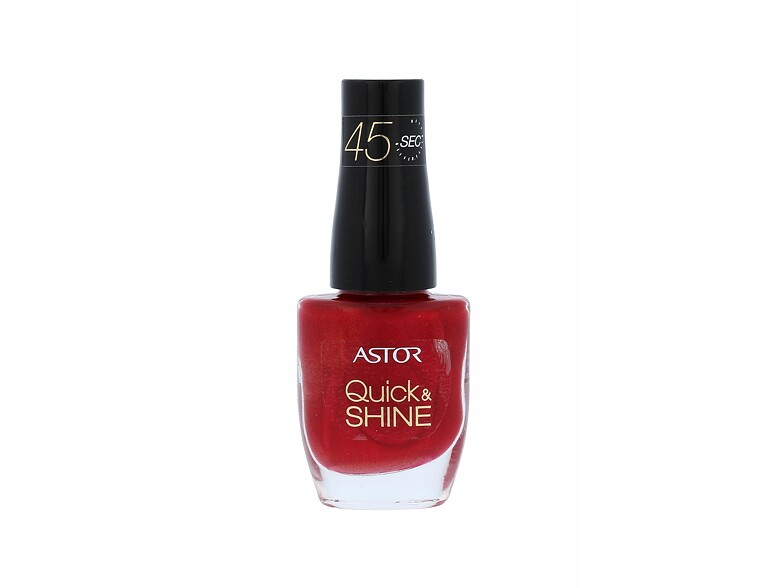 Nagellack ASTOR Quick & Shine 8 ml 306 Red Letter Day