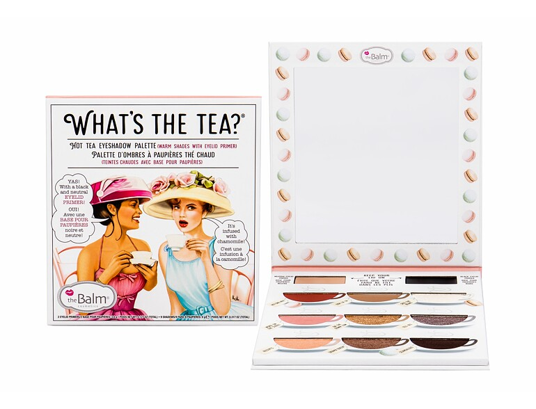 Ombretto TheBalm What´s the Tea? Hot Tea Eyeshadow Palette 12,6 g